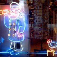 neon cartoons